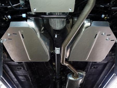 Nissan Murano 2016-Защита бака (алюминий) 4мм